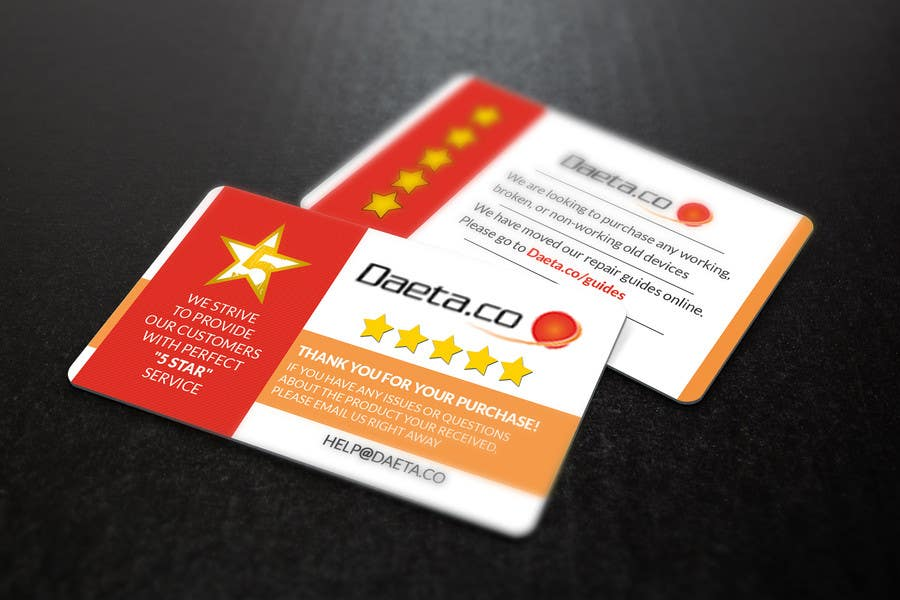 Entry 6 by s04530612 for design business cards for 5 star feedback contest entry 6 for design business cards for 5 star feedback product sales reheart Choice Image
