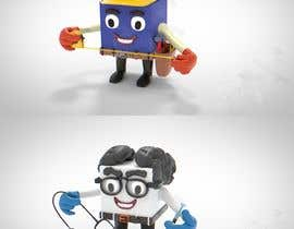 #23 for 3D MASCOT COLORED ART CHARACTER DRAWING by Cobot