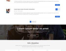 #6 for Website Design Mockup by anusri1988