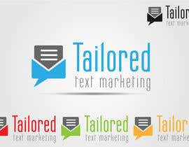 akshaydesai tarafından Logo Design for Tailored text marketing için no 158