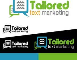 #163 para Logo Design for Tailored text marketing por Mohd00