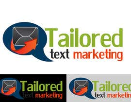 #143 para Logo Design for Tailored text marketing por hirusanth