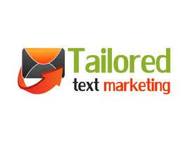 #146 para Logo Design for Tailored text marketing por hirusanth