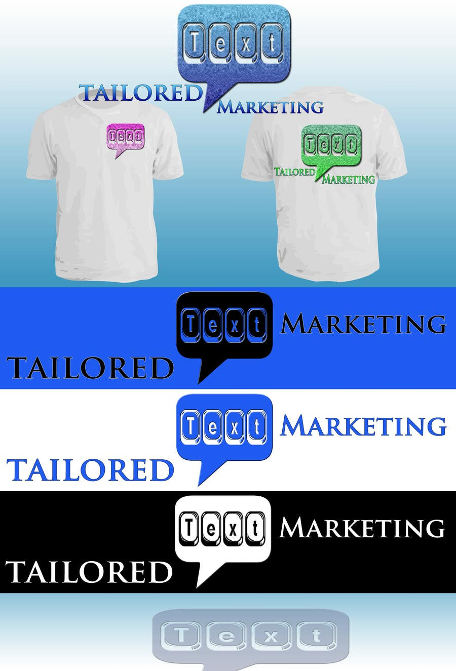 Proposition n°                                        21                                      du concours                                         Logo Design for Tailored text marketing