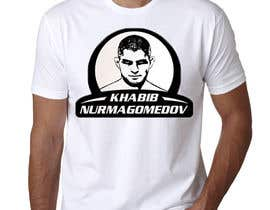 #10 for T-shirt design - Khabib UFC -- 10/14/2018 9:19:29 am by Ameyela1122