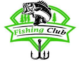 Nro 17 kilpailuun Fishing club logo käyttäjältä nayeema242