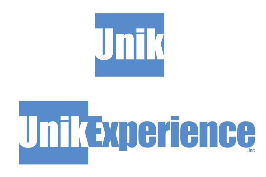 Inscrição nº                                         19                                      do Concurso para                                         Logo Design for Unik Experience