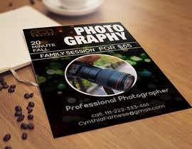 #9 cho Flyer for photography bởi designcreative28