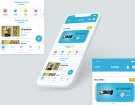 #36 for UI/UX Home page only for classified ads mobile application af jeniroxy