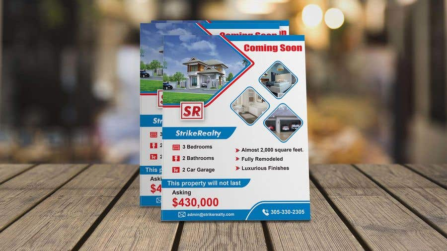 5fe0560a5b Entry #36 by rajufarajee for Coming Soon Flyer | Freelancer