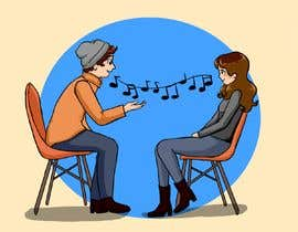 #22 per Illustration 2 people in chairs who sing da betaniaGremory