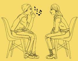 #16 per Illustration 2 people in chairs who sing da felixhadi