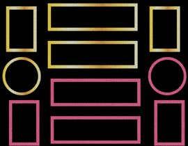 #9 for Design UI Golden borders in Illustrator (vector) af DesignPower24