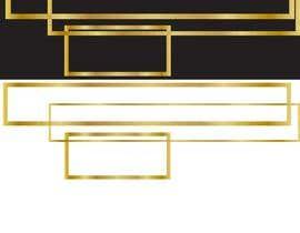 #10 for Design UI Golden borders in Illustrator (vector) af hossainmanikcmt