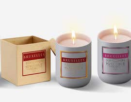 nº 86 pour Design a logo, label and packaging for a scented candle start-up par lounzep