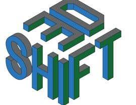 #3 for SHIFT 3D logo by singhdeepak1972