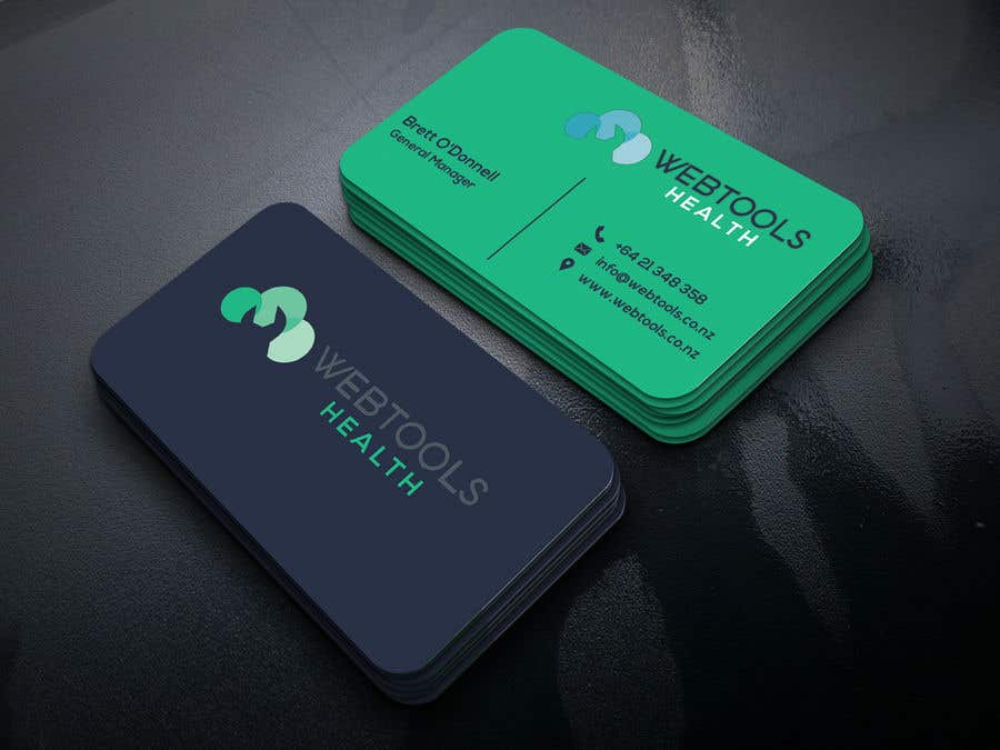 Contest Entry #984 for Business Card Design - Webtools Health