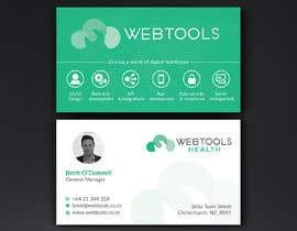 #1292 untuk Business Card Design - Webtools Health oleh Neamotullah