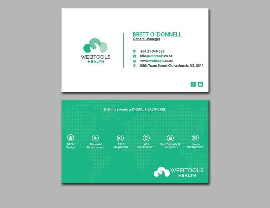 Contest Entry #1277 for Business Card Design - Webtools Health