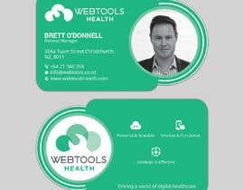 #1326 untuk Business Card Design - Webtools Health oleh Darda222