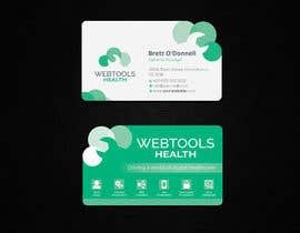#1073 for Business Card Design - Webtools Health by creatideasbd
