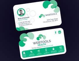 #1328 untuk Business Card Design - Webtools Health oleh creatideasbd