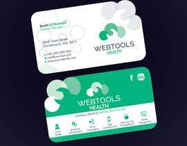 #1329 untuk Business Card Design - Webtools Health oleh creatideasbd