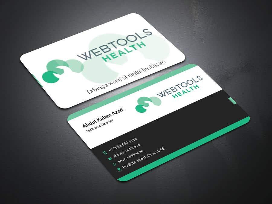 Contest Entry #810 for Business Card Design - Webtools Health