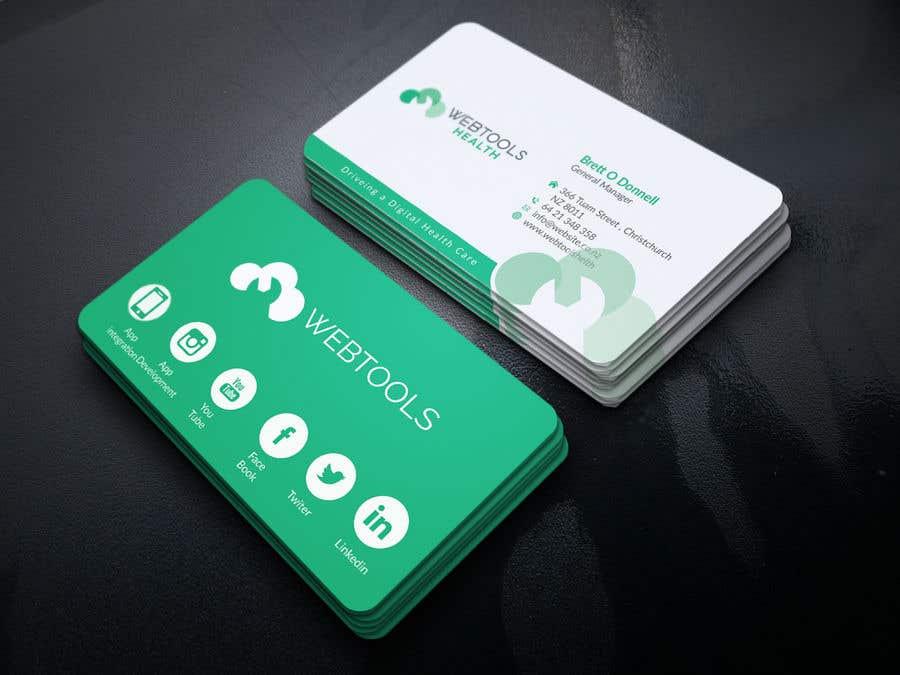 Contest Entry #1295 for Business Card Design - Webtools Health