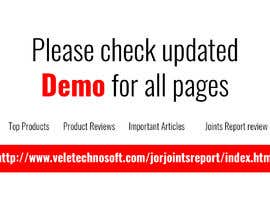 #14 for Html For Mobile Design- Demo by veletechnosoft