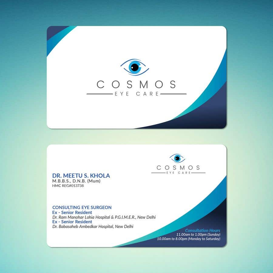 Entry 128 By Naheanchowdhury For Visiting Card For Eye