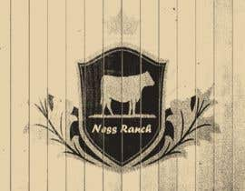 #4 for A logo for ranch with cattle brand a simple logo but eye catching (Ness Ranch) af amrmero1010