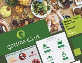 """#2 για My business is called """"GettMe"""". It's an on-demand food delivery website/app that has access to hundreds of restaurants and shops. I need someone to design an eye-catching leaflet. It's available on IOS and Google Play. Website: www.gettme.co.uk από pixelbucket"""