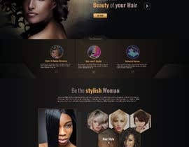 #20 para Basic Landing Page Design Needed - Hair Care Industry por webhubbd