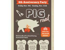 #33 untuk Flyer Design  4 Year anniversary weekend oleh darbarg