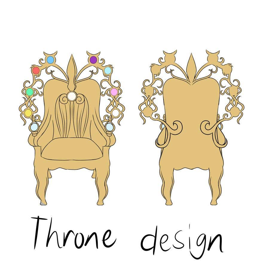 Proposition n°11 du concours Design Concept art of  a Throne for a game