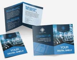 Nro 26 kilpailuun Make a brochure for my cyber security company käyttäjältä Maritu92