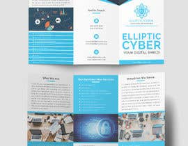 Nro 58 kilpailuun Make a brochure for my cyber security company käyttäjältä lutfurrahman998