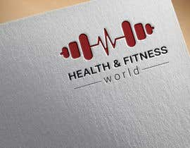 #30 for create a LOGO health & fitness world by Silverfury1998