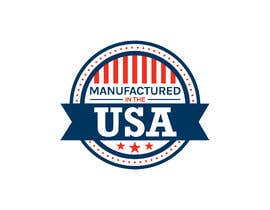 "#12 for Logo ""Manufactured in the USA"" by arfn"