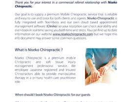 Nro 29 kilpailuun Pimp my agent referral document käyttäjältä Vibecke