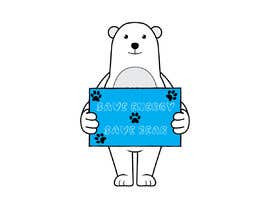 nº 33 pour Design cute polar bear for GOOD CAUSE saving energy awareness campaign par Moshiur0101