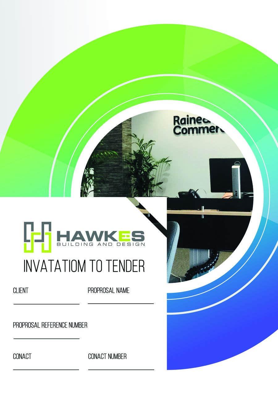 Kilpailutyö #29 kilpailussa Tender Proposal / Brochure