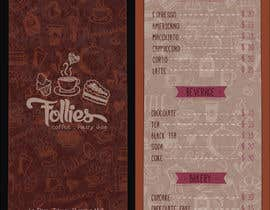 #37 for Tri fold menu for a coffee shop by nouraidelbi