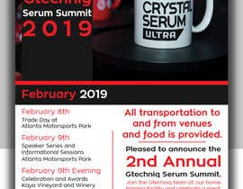 #96 for Design Gtechniq Serum Summit 2019 poster by shsanto