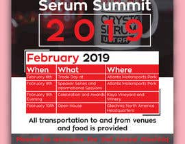 #100 for Design Gtechniq Serum Summit 2019 poster by shsanto