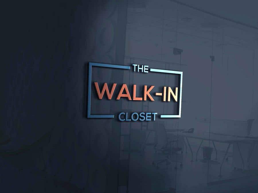"""Конкурсная заявка №66 для Logo for a vintage, resale shop called, """"The Walk-in Closet."""""""