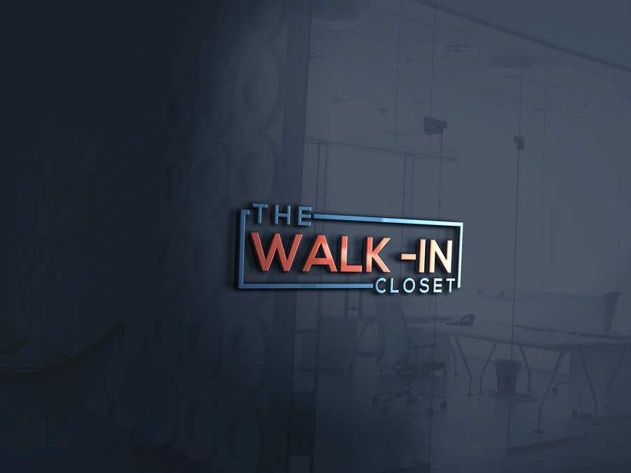 """Конкурсная заявка №114 для Logo for a vintage, resale shop called, """"The Walk-in Closet."""""""