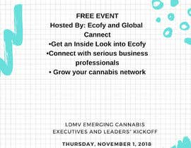 #7 , Create an event poster for professional business networking event ( URGENT ) 来自 bloubulle3