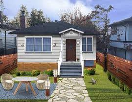 #37 pentru House Exterior Design / drawing - create a nicer entrance de către mermed